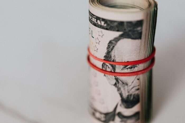 a roll of money